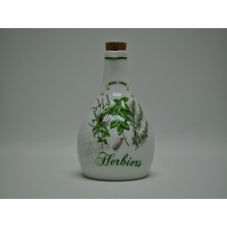 Butelka ceramiczna HERBIERS
