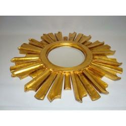 Słoneczko postarzane złoto